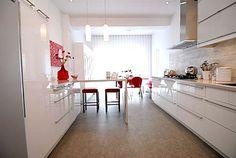 Ikea -- White Lacquer Kitchen