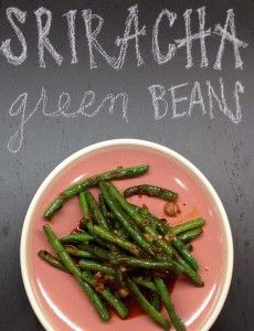 Can't get enough of these Sriracha Green Beans  #Recipe  #SomethingTasty  #RoadTripFlavors