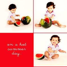 fun day with watermelon!!