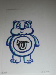 Who Cares Bears - Screw U Bear