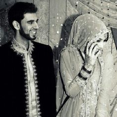 muslim couple - this is too cute for words.