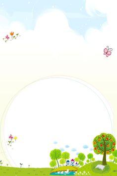 Birthday Background Design, Kids Background, Banner Background Images, Watercolor Background, Framed Wallpaper, Flower Wallpaper, Drawing For Kids, Art For Kids, Powerpoint Background Templates
