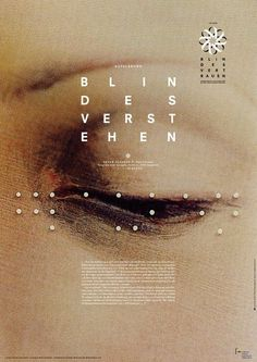 "Graphic Design - Graphic Design Ideas  - Daniel Gumbert, ""Blindes Verst Ehen"", 2012   Graphic Design Ideas :     – Picture :     – Description  Daniel Gumbert, ""Blindes Verst Ehen"", 2012  -Read More –"