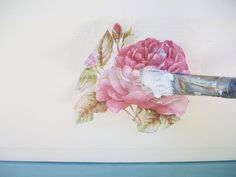 How to decoupage with tissue paper