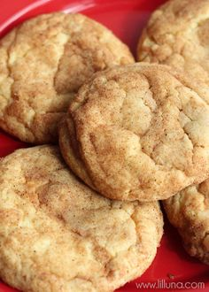 Soft and Chewy Biscoff Snickerdoodles