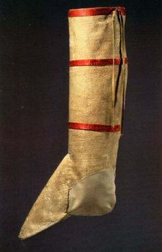 A bit older than the rest of the pins here... Hose of St.Desiderius from 12th century. Germanische National Museum, Nurmberg
