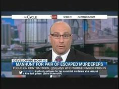Part 1: Did killers have help escaping? Joseph Giacalone talks to MSNBC - The Cycle - YouTube