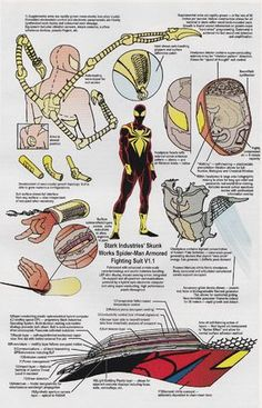 When Iron Man first had to make a quick escape, he made his armor out of anything he could get...
