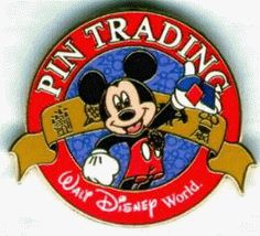 Disney pin trading. So addictive and expensive