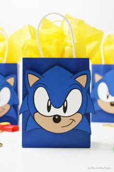 Sonic Birthday Cake, Sonic Cake, Sonic Birthday Parties, 7th Birthday, Frozen Birthday, Sonic Party, Birthday Party Decorations, Birthday Party Favors, Sonic The Hedgehog Cake