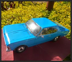 Chevrolet Opala Paper Car Free Paper Model Download - http://www.papercraftsquare.com/chevrolet-opala-paper-car-free-paper-model-download.html