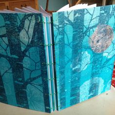 handmade book for scrapbooking drawing photobook.. by pinkepinke