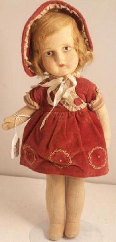 Un'adorabile Lenci doll