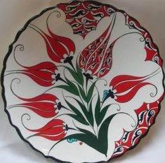 I find constant inspiration in Iznik pottery from the centuries. Pottery Plates, Glazes For Pottery, Ceramic Pottery, Pottery Art, Turkish Design, Turkish Art, Turkish Tiles, Tuile, Ceramic Design