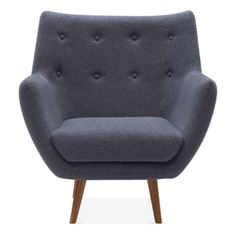 Cult Living Poet Lounge Armchair - Grey