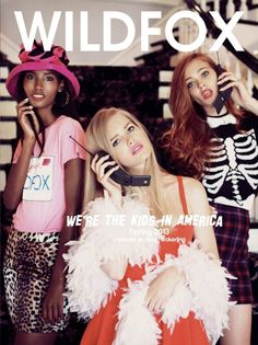 Wildfox Couture Clueless shoot