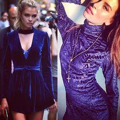 When Velvet takes over  | Inspiration & Vestido Blue Velvet com 70%OFFaqui: www.inspireland.com  ou clique no link da bio | Shop: R$ 59,00 #myinspireland #velvet #veludo #girl #girlsbelike #shop #details #vestido #veludo #instagood #beautiful
