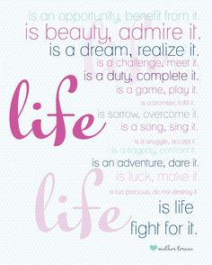 Life 8x10 Printable Laura Winslow Photography