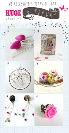4 years EGST!!! HUGE GIVEAWAY CELEBRATION!!! Greeks, 4 Years, Goodies, Place Card Holders, My Love, Celebrities, Giveaways, Etsy, Competition