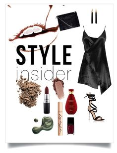 """Sans titre #14"" by nazerenler on Polyvore featuring mode, Boohoo, Dolce&Gabbana, Gianvito Rossi, Yves Saint Laurent, Illamasqua, MAC Cosmetics et Charlotte Tilbury"