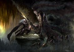 Drizzt - The Unholy Warlord by Ilacha.deviantart.com on @deviantART