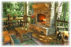 27 Best Screened Porch With Fireplace Images Cottage