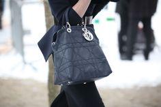 Christian Dior bag during Paris Haute Couture, Spring 2013