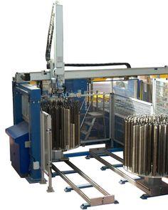ALFIO, Oddělování a polohování dřevěných výrobků A3, Robot, Robots