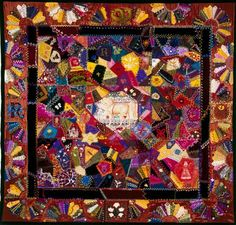 This Crazy Quilt was sold for $70,000 with over 3000 hours of hand work!