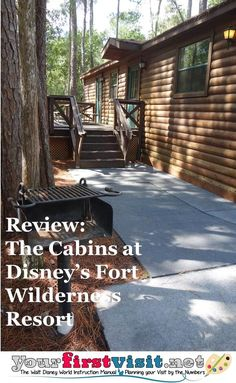 Review The Cabins At Disneyu0027s Fort Wilderness Resort And Campground From  Yourfirstvisit.net