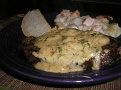 Mushroom Sauce for Broiled or Grilled Steaks