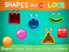 Shapes and Colors Toddler games