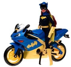 Barbie Year 2003 Super Hero 12 Inch Doll Set - Barbie as Batgirl with Batgirl's Motorcycle and Batarang * See this great product.