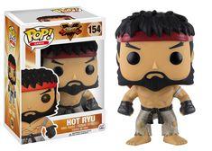 Pop! Games: Street Fighter - Hot Ryu