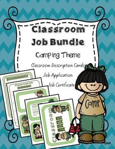 This download includes 21 job description cards.  Each description card includes a description of each job's responsibilities and qualifications.  You will also find some blank description cards for you to create your own to fit the needs of your students and class.