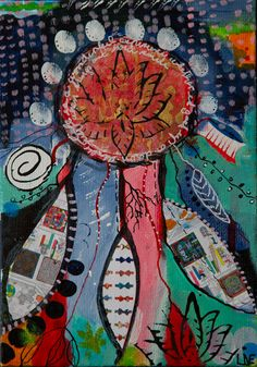 Dreams in December    13x18 cm         40€  Mix Media on Hardboard Contact me on linebank@me.com feel like seeing more  please go to www.facebook.com/banksabstractions