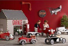Vintage Industrial Yet Cute Kids' Playroom Ideas 20