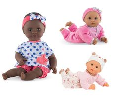 10 best holiday gifts for little kids 4-8 : Corolle BeBe Calin Dolls include Black dolls, brown dolls, so all kids can find a doll that reflects them right back. | Small Business Holiday Gift Guide 2020 Gifts for kids | Shop small | holiday gifts | Best gift guide | Gifts for girls | gifts for boys | gifts for kindergarteners | gifts for preschool | gifts for elementary kids | Creative play | Baby dolls | Etsy gifts for kids #holidaygifts #giftsforkids #shopsmall