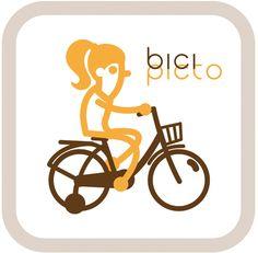 pictograma bicicleta niño