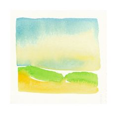wetlands shapes small original watercolor by malissasplace on Etsy, $65.00