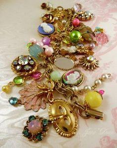 Marie Antoinette bracelet by janedean on DeviantArt