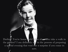 Hello Darling / British Hey Girl - Benedict Cumberbatch