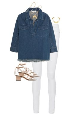 """""""Untitled #11399"""" by alexsrogers ❤ liked on Polyvore featuring Frame Denim and Chloé"""