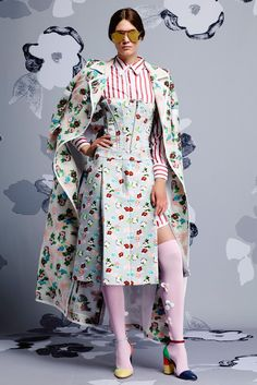 The complete Thom Browne Resort 2015 fashion show now on Vogue Runway.