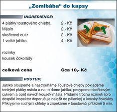 Recept - žemlovka Vegetarian Recipes, Nova, Toast, Menu, Vegan, Menu Board Design, Vegans, Vegetable Dip Recipes