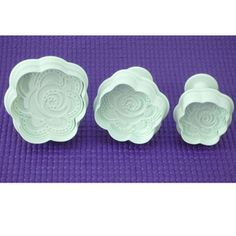 New Rose Shape Cake Plunger Cutter Cake Decorating Tool  Fondant Mold from sailangcompany on ebay