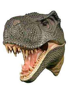 T-Rex Attack Plaque Wall Decor at PLASTICLAND