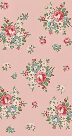 iPhone 5 wallpapers - pink floral