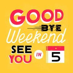 Fabulous Goodbye Weekend by Alyssa Nassner