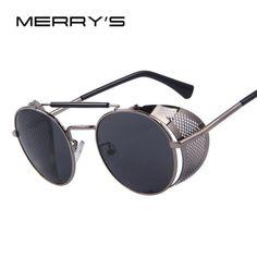 1a1e6206946 บนทก MERRYS Women Retro Design Round Steampunk Sun... Sunglasses Price
